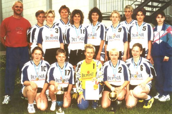 Historie_Frauenmannschaft_Landespokalsieger_1999