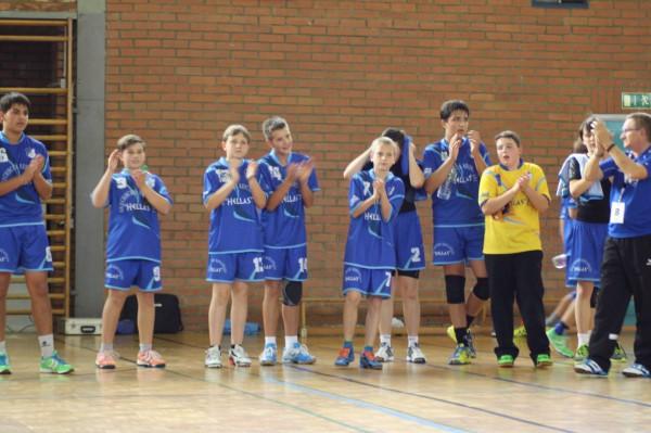 Erleichterung und Freude brachten sich nach dem Abpfiff Bahn. Die MJC siegte beim Post SV Magdeburg. | Foto: Mannschaft