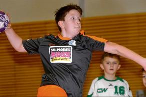 Jonas Mierzwiak war mit der männlichen D-Jugend erfolgreich. Das Team holte souverän den Titel. | Foto: Frank Nahrstedt
